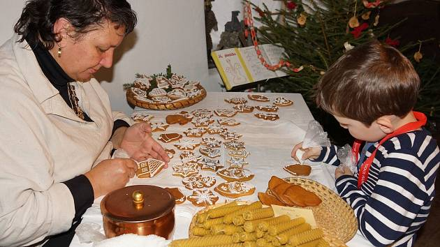 Havířské Vánoce před sto lety budou k vidění v hornickém domku na Březových Horách.
