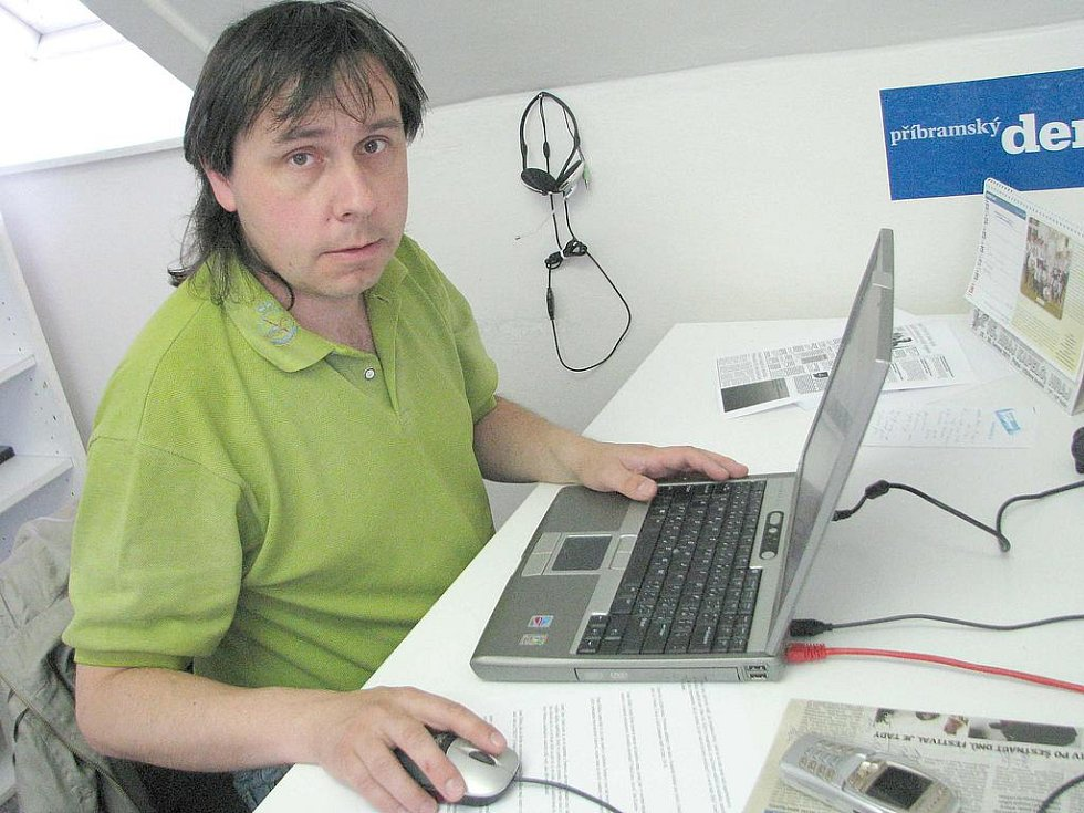 Jaromír Bláha z Hnutí DUHA.