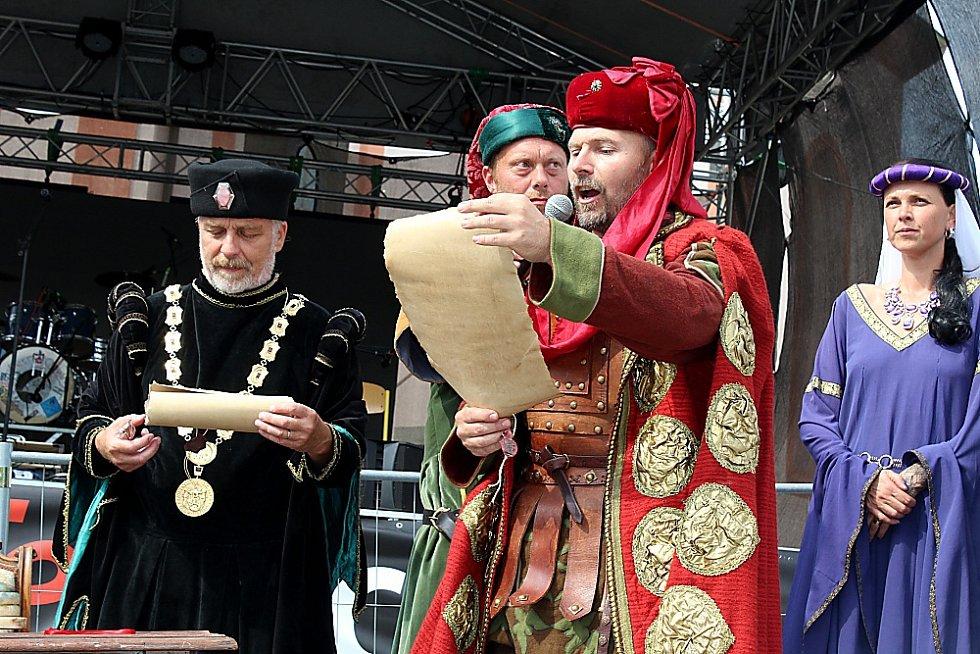 Nový Knín oslavil 830 let od založení města.