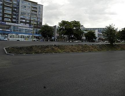 Parkoviště v Plzeňské ulici