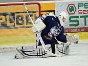NADĚJE. Příbramský odchovanec a brankář Bílých Tygrů z Liberce Pavel Čajan je velkou nadějí českého hokeje.