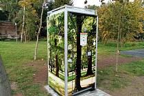 První veřejná toaleta v Sedlčanech, kde se platí pomocí mobilu.