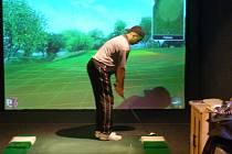 První ročník indoor golfového turnaje v Příbrami.