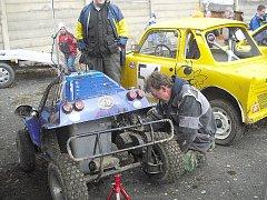 Autocross v Rožmitále.