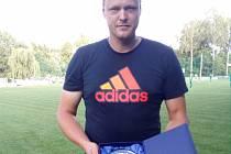 Fotbalový brankář Pavel Capouch.