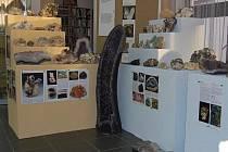 Výstava minerálů Pavla Benjáka v Březnici.