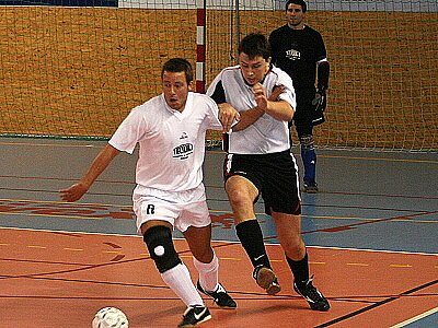 Futsal, play off: Bílý balet - Green dogz.