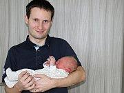 Karel Rejšek se narodil 3. ledna s váhou 3,57 kg a mírou 51 kg Jitce a Karlovi z Příbrami.