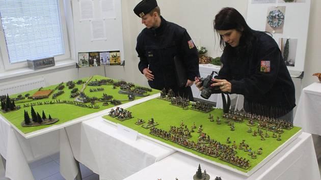 Výstava byla k vidění v prostorách výrobně výukové haly a konala se už podruhé.