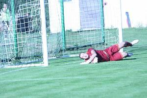 Fotbalisté Tochovic získali doma první bod