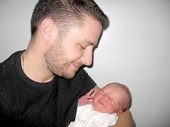 Ve středu 20. listopadu maminka Stanislava a tatínek Milan z Příbrami přivítali na světě prvorozeného syna Milana Balouna, který v ten den vážil 3,23 kg a měřil 48 cm.