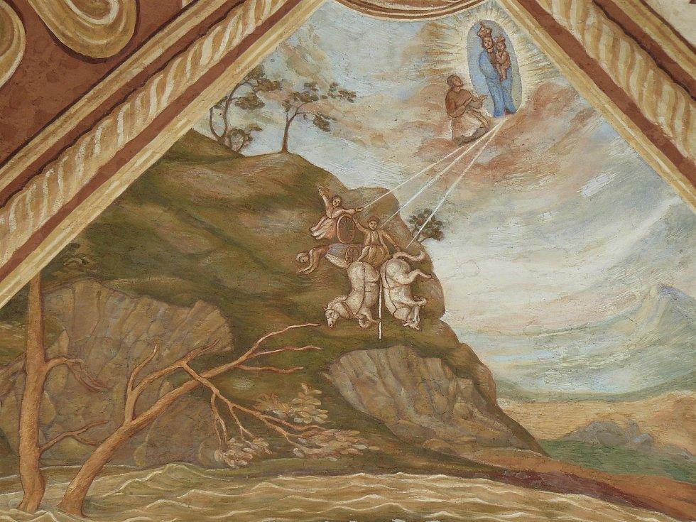 Sto svatohorských milostí: obraz číslo 6.
