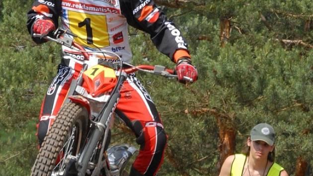 Martin Křoustek bude patřit k největším favoritům na vítězství ve víkendových závodech v Ouběnicích.