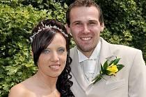 Březnický zámek si vybrali jako místo svého sňatku Oldřich Suchan a Veronika Badalcová. Novomanželé Suchanovi si řekli své ano v pátek 3. července ve 13 hodin.
