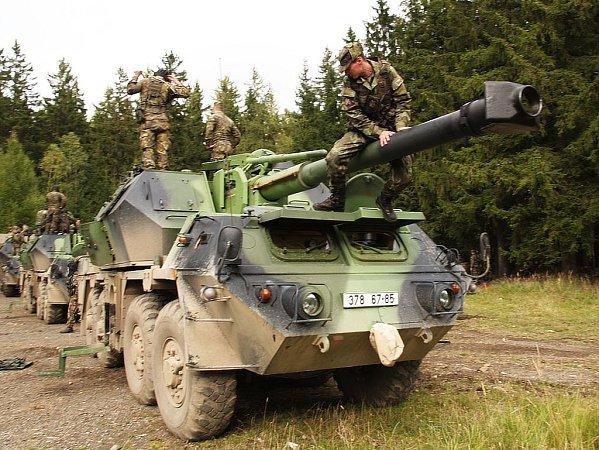Ve dnech 8.až 11.října proběhlo ve Vojenském újezdu Brdy cvičení pod názvem Freedom of Movement 01-2012vrežii 131.dělostřeleckého oddílu 13.dělostřelecké brigády zJinec.