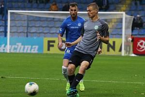 Zápas 15. kola FORTUNA:LIGY Slovan Liberec - 1. FK Příbram 3:2.