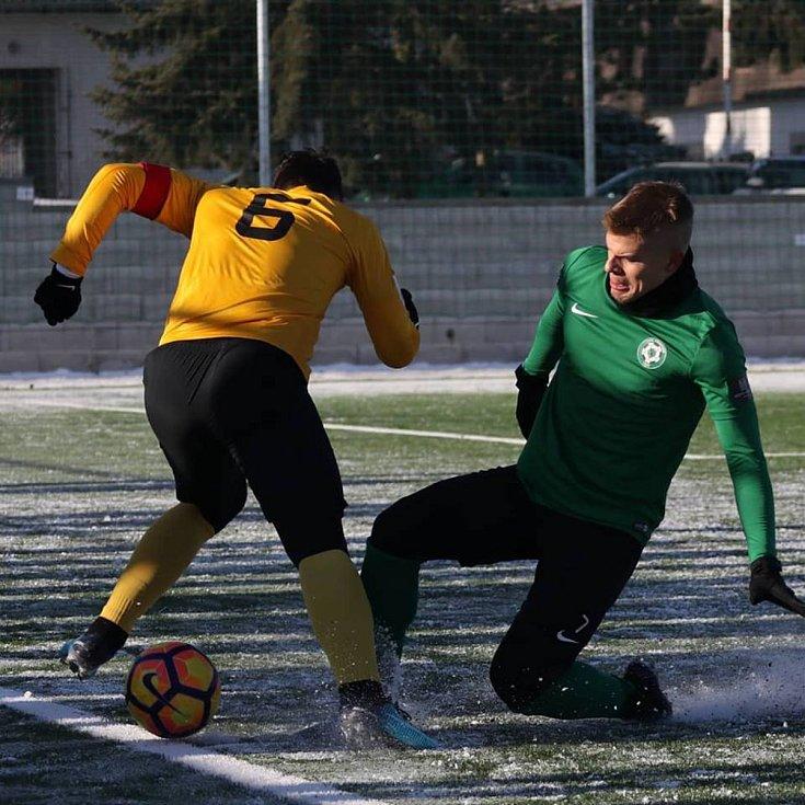 Příbram porazila v přípravném zápas Sokolov 4:1.