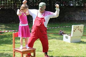 Cihlafest bavil malé i velké hudbou, divadlem a cirkusem.