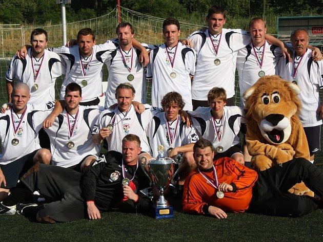 Mistr České republiky v malé kopané pro rok 2008 - FC Union Brdy.
