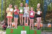 Julie Bambousková na 1. místě mezi dívkami do 12 let, Vašek Lorenc celkově 4. mezi kluky do 12 let a Matouš Petrilák a Martin Snížek na 1. a 3. místě v kategorii do 14 let.