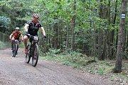 V sobotu před polednem přivítala Vlaška dvě stovky závodníků horských kol.