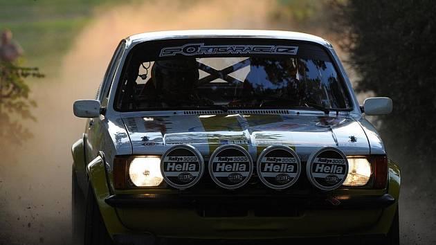 33. Rally Příbram. 1. etapa.