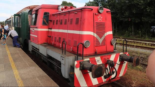 V Rožmitále si připomněli 121 let existence místní železnice a 10. výročí Podbrdského muzea.