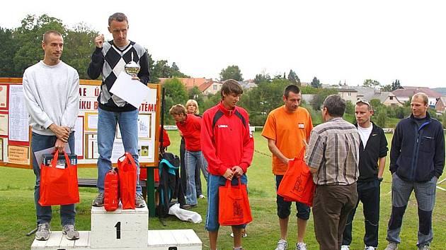 Stupně vítězů 40. ročníku Běhu Kovohutěmi.