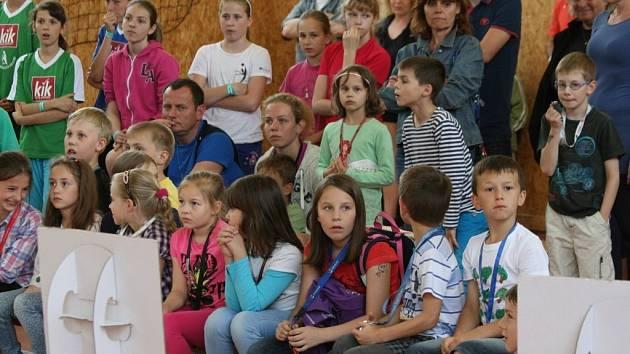 Sportovní den s talentem zavítal do Příbrami.