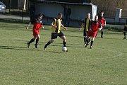 Zápas III. třídy skupiny A  Dolní Hbity - Stará Huť 1:2 po penaltovém rozstřelu.