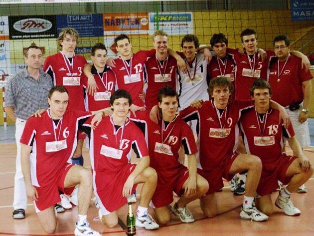 Junioři Vavexu Příbram obhájili stříbrné medaile, když nestačili až ve finále na Brno.