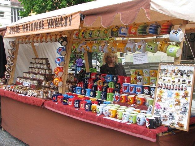 Jarní trhy v Příbrami
