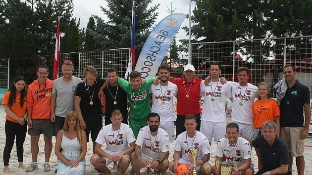 Central Europe Cup v plážové kopané - 1. místo: Rakousko.