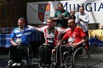 Jan Tománek na závodech evropského poháru ve španělském Bilbau.