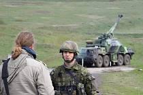 Na přelomu dubna a května patřily doupovské hory dělostřelcům.