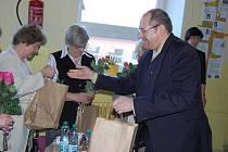 Ivan Fuksa na Základní škole 28. října v Příbrami.
