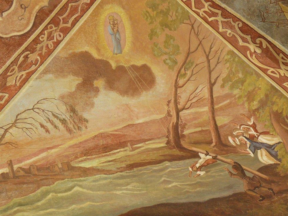 Sto svatohorských milostí: obraz číslo 93.