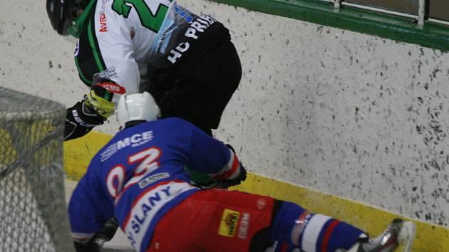 HC Příbram - HK Lev Slaný (3:5).