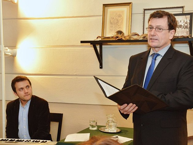Zleva: Zdeněk Dočekal, František Kreuzmann.