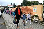 Ze zahájení školního roku 2020/2021 v Jincích.