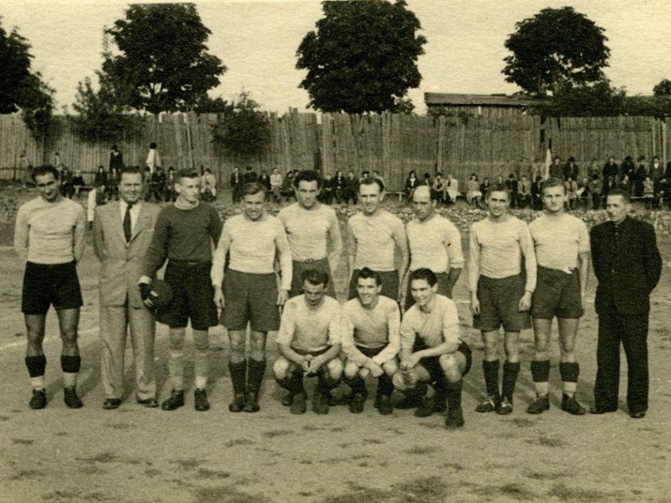 Z historie SK SPARTAK Příbram. Rok 1943.