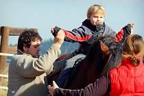 Jakub na koni.