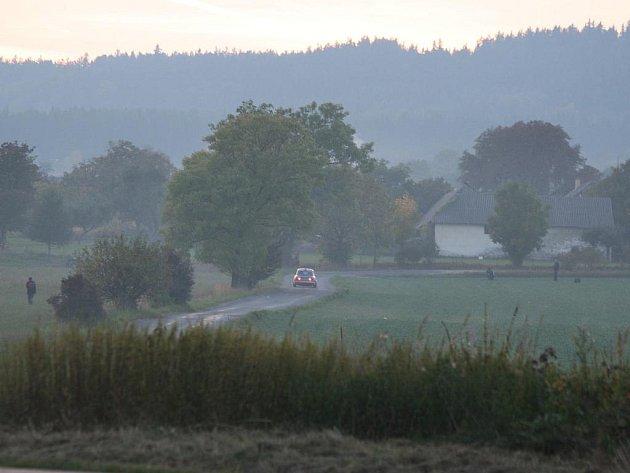 32. ročník Herkul Rally Příbram 2010. RZ 2 Bohutín - Sádek.
