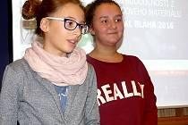 Eliška a Klárka zaujaly svými videonahrávkami.