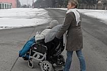 Elektrický vozík pomohl jak Péťovi, tak jeho rodině.