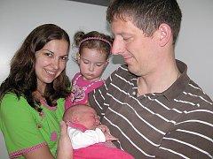 V sobotu 23. května přivítali maminka Petra a tatínek Vojtěch z Příbrami na světě dcerku Klárku Kramperovou, vážila 3,99 kg a měřila 53 cm. Vyrůstat bude s dvouapůlletou sestřičkou Anežkou.