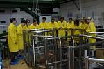 Studenti příbramského Gymnázia pod Svatou Horou navštívili Katedru jaderných reaktorů Fakulty jaderné a fyzikálně inženýrské ČVUT v Praze.