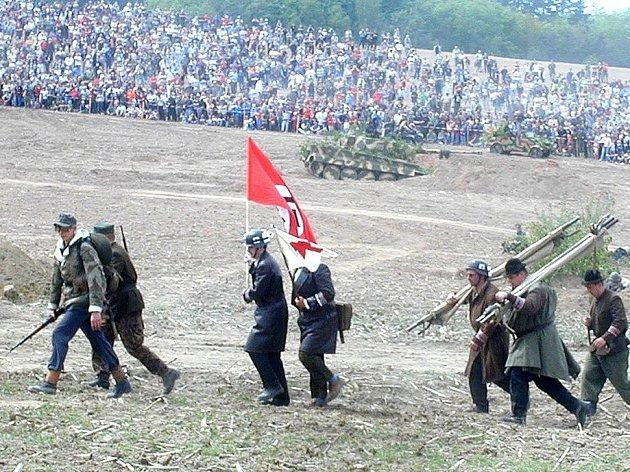 Rekonstrukce bitvy na Slivici