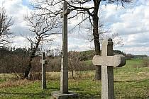 Závěr křížové cesty na Kalvárii.