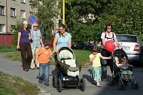 Akce Den bez aut v Příbrami se zúčastnilo asi 300 lidí a to bez rozdílu věku.